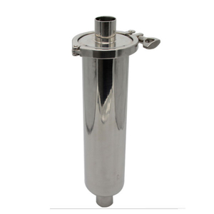 Sanitary Inline Stainless Steel Straight Filter Equipment