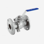 Stainless Steel 2pc Flanged Ball Valves ANSI High Pressure Class150LB