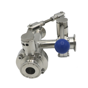 3 Way Butterfly Valves with linkage level
