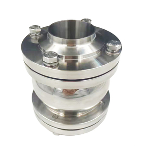 Hygienic Stainless Steel flanged non return valve ball type