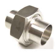 Stainless Steel Sanitary 3A Bevel Seat Unions Pipe Fitting