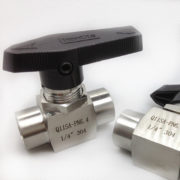 Stainless Steel 1-PC Mini Ball Valve Female Male