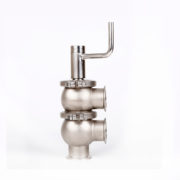 Sanitary Manual 3 way Clamped Divert Seat Valve