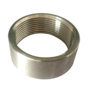 Stainless Steel Half Coupling BSP NPT Thread