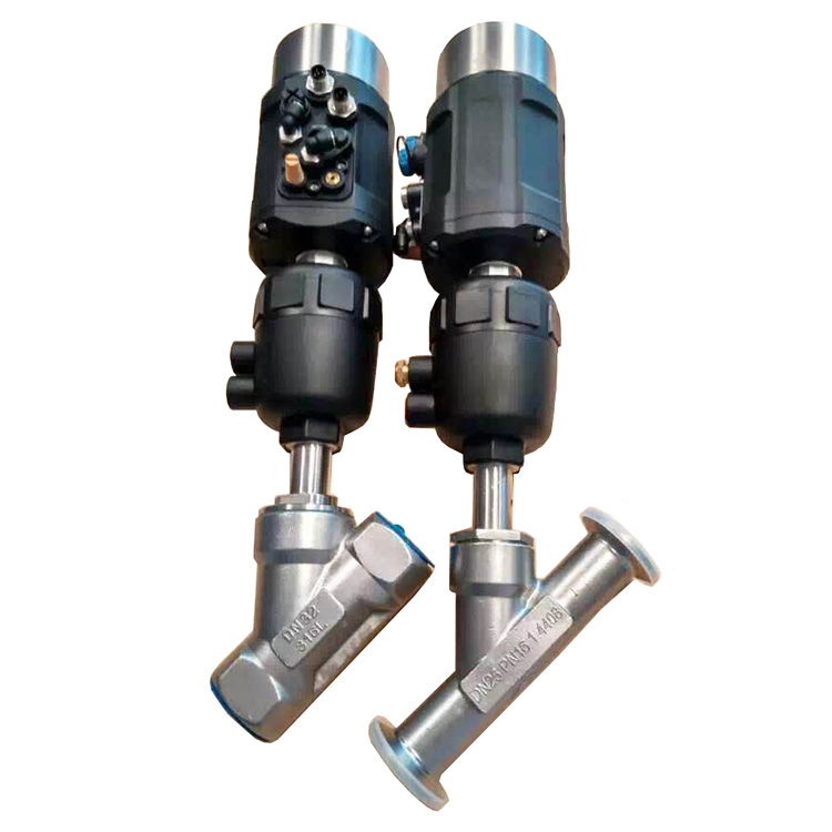 What is Pneumatic Angle Seat Valve?