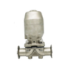 Sanitary Triclamp Diaphragm Valve with Stainless Steel Actuator