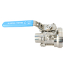 Hygienic Stainless Steel Manual Tank Bottom Ball Valve