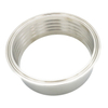 Stainless Steel Sanitary Roll-on Ferrule Expanding Clamp Ferrule