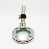 DIN11851 sanitary flanged sight glass with light indicator