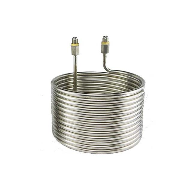 Stainless Steel Cooling Coil with 3/8″ SAE Adapter for Chilling Extractor Replacement