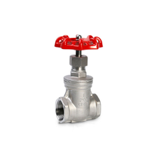 Manual Stainless Steel Gate Valve Female Thread