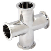 KF Vacuum Tee Cross Pipe Fittings