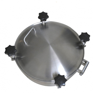 Sanitary Stainless Steel Pressurized Round Manhole Cover