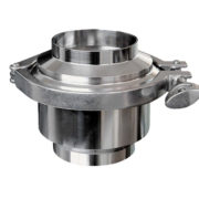 Hygienic Non Return Valve Butt Weld One Way Flow Check Valve