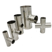 Sanitary Stainless Steel Cross Long Type